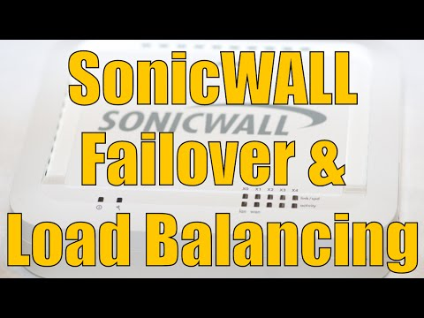 Dell SonicWALL Failover And Load Balancing