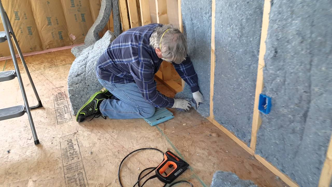 Install Cut Ultratouch Denim Insulation The Easy Way No