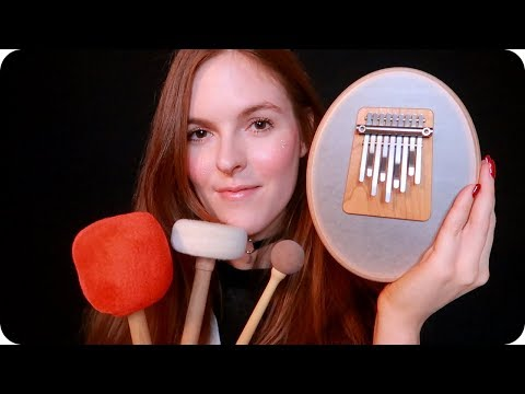 ASMR Therapeutic Sounds for Relaxation (Kalimba, Singing Bowls, Tuning Forks, +) 🧘♀️