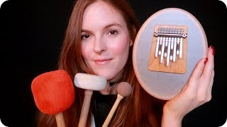 ASMR Therapeutic Sounds for Relaxation (Kalimba, Singing Bowls, Tuning Forks, +) 🧘‍♀️
