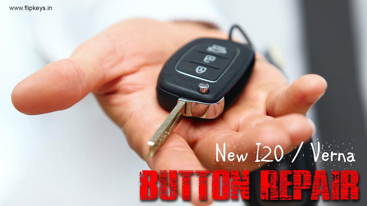 Hyundai I Flip Key Button Repair Flip Keys