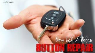 Hyundai I20 Flip Key Button Repair