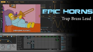Trap Horns - Wavetable Brass Preset