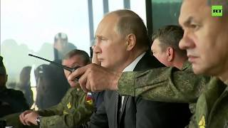 Putin watches on last day of 'Centre 2019' military exercises