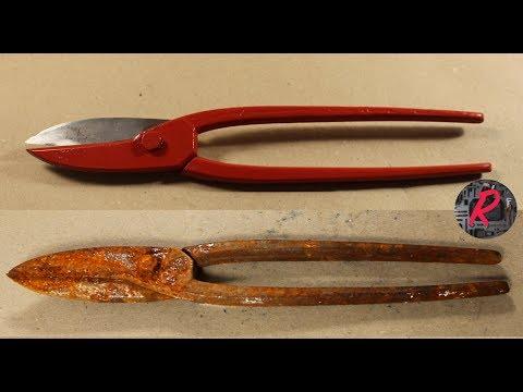 Metal shear restoration