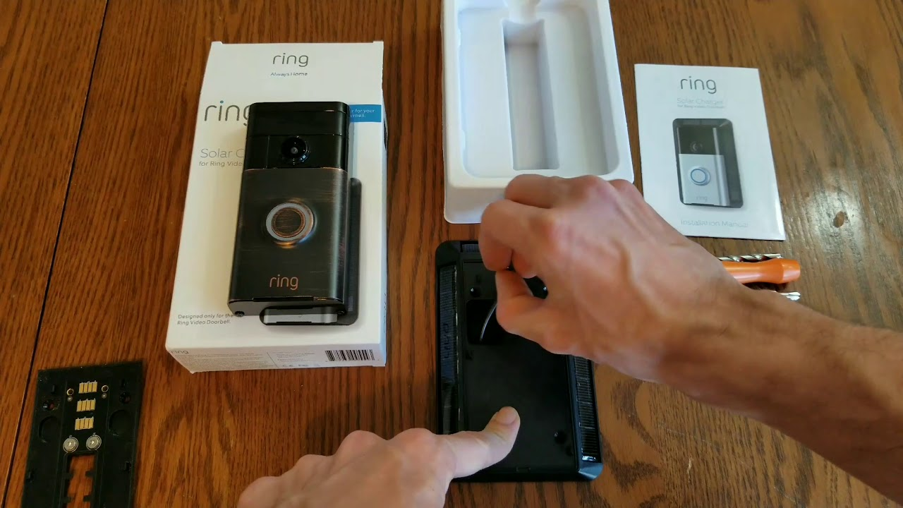 Uber Or Lyft >> Ring Doorbell Solar Panel Charger 1 month review - YouTube