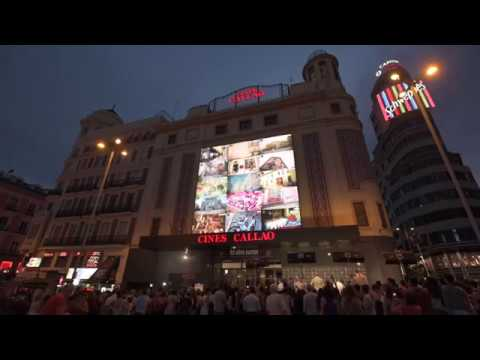 Madrid Capital de Moda en Callao City Lights