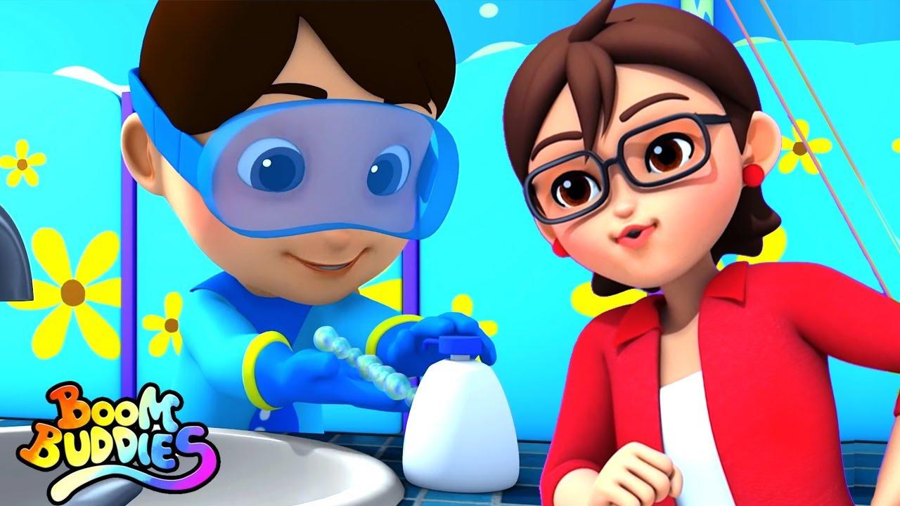 Lava tus manos | Rimas para niños | Educación | Kids TV Español Latino | Videos animados