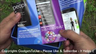 Nokia Lumia 510 India Retail Box Unboxing and Hands On Overview