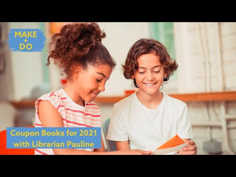 Workshop: Coupon Books for 2021 with Librarian Pauline