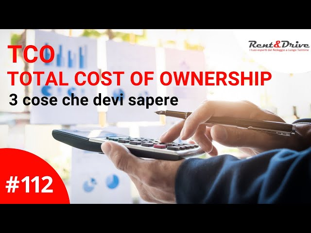 TCO Total Cost of Ownership  - 3 cose da sapere