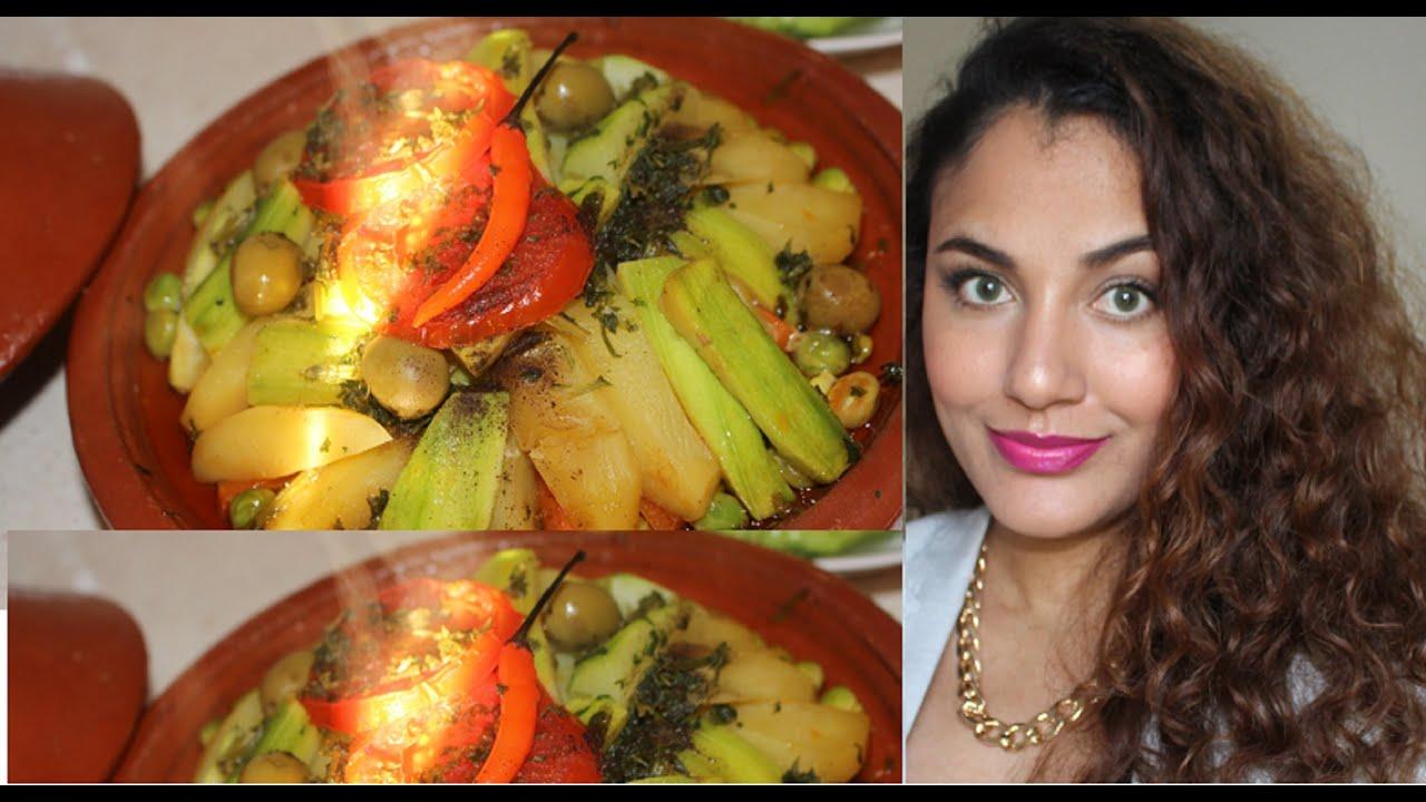 /Tajine de poulet et légumes/ طاجين الدجاج والخضر /Chicken ...