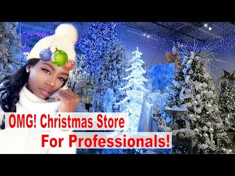Christmas Decor Shop with Me 2019 holiday tour Christmas Decorations for Professionals Decorate with