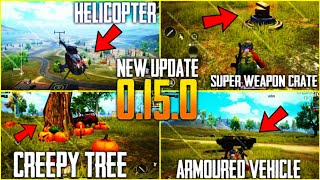 PUBG UPDATE 0.15 | PAYLOAD MODE- HELICOPTER- ARMOURED VEHICLE- SOUND | PUBG MOBILE
