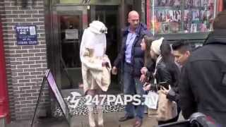 Lady Gaga Leaving Yoga Class on her Birthday in NYC 03-28-14