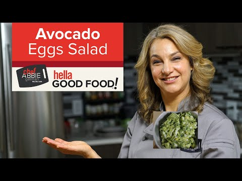 No Mayo Avocado Egg Salad / Toast - Protein packed Breakfast Ideas
