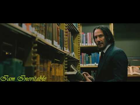 John Wick 3 Library Fight Scene1080p