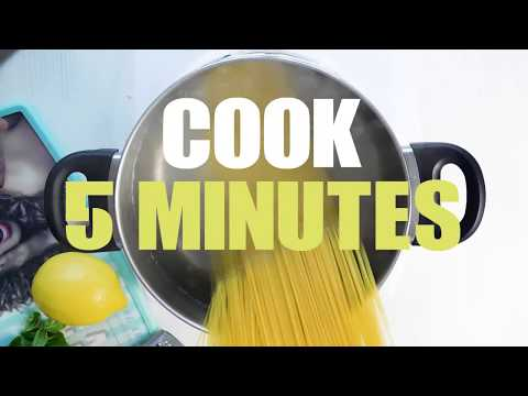 Fresh Lemon Basil Pasta Sauce | EXTRA EASY & QUICK