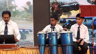 Sainik School Bijapur  Smarananjali at Raj Bhavan, practice session 2