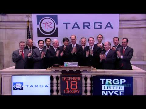 Targa Resources Visits the NYSE