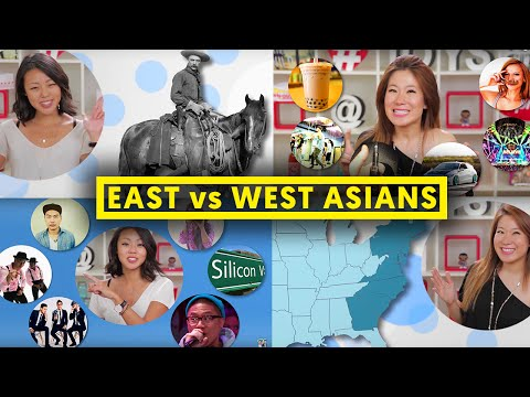EAST COAST ASIAN vs. WEST COAST ASIAN!