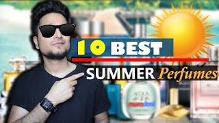 🌞10 Great SUMMER Perfumes for MEN 😎 Designer List 2020 हिंदी में Great Smelling 🌞 For Indian Weather