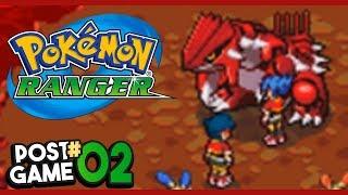 Pokemon Ranger Post Game Part 2 GROUDON EXTREME HEAT! Gameplay Walkthrough