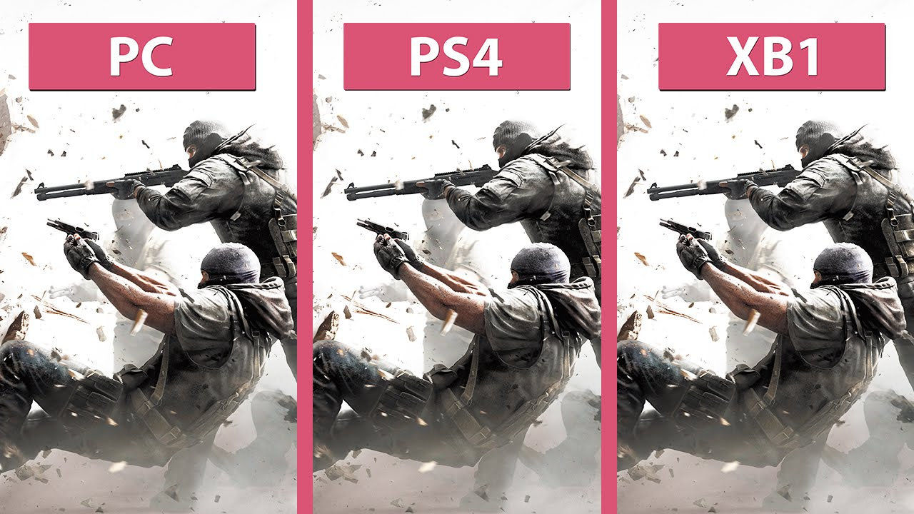 Call Of Duty Black Ops 3 Wallpaper Rainbow Six Siege Pc Vs Ps4 Vs Xbox One Graphics