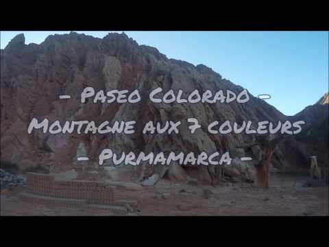 """Footing au """"paseo Colorado"""" (Purmamarca)"""