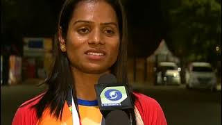 Dutee Chand Clinches Two Silver Medals I Asian Games 2018 | DD Sports