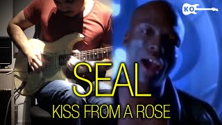 Seal - Kiss from a Rose - Electric Guitar Cover by Kfir Ochaion