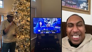 Stephen A Smith CELEBRATES Dallas Cowboys Playoff Elimination After Philadelphia Eagles Win Over NYG