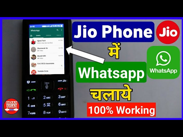 Use Whatsapp on Jio Phone with 100% working method | Jio Phone  me Whatsapp Kaise Chalaye #1