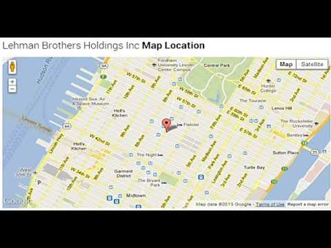 Lehman Brothers Holdings Inc Corporate Office Contact Information