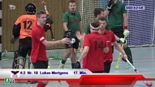1. Regionalliga West Halle Herren DSD vs. CR 02.12.2018 Highlights