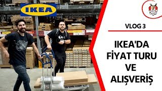 IKEA 'DA KEKE CHALLANGE │Fiyat Turu - Alışveriş│ Vlog 3