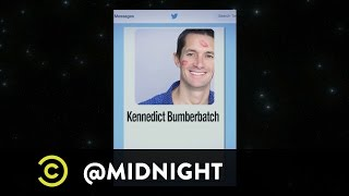 Jack McBrayer, Matt Walsh and Rob Riggle - I, Bio-Bot - @midnight with Chris Hardwick