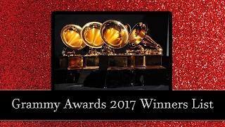 Grammy 2017 Winners list - Adele - Beyonce - Grammy Ödülleri