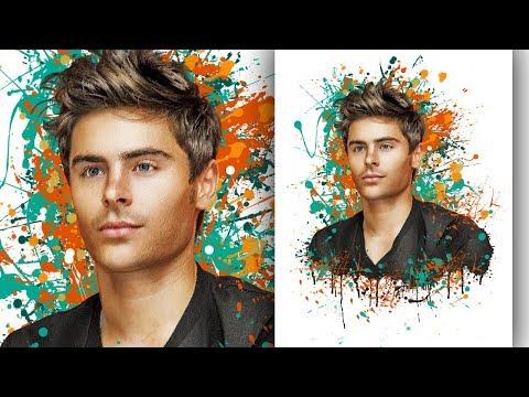 DREAM ART. Обработка мужского портрета в Фотошоп