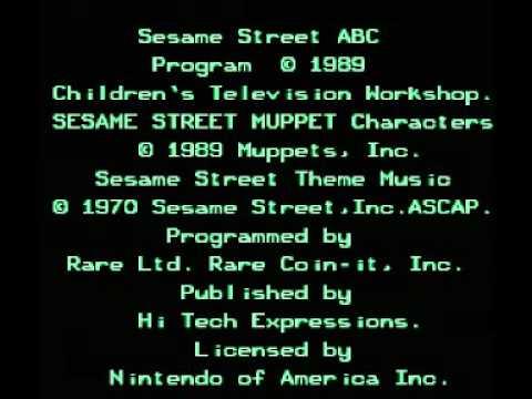 Sesame Street ABC (NES) Music - Title Theme