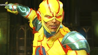 Injustice 2: ALL REVERSE FLASH INTROS! 1080P 60FPS - Injustice 2