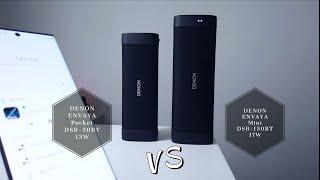 specs battle: DENON Envaya Mini DSB 150BT vs Envaya Pocket 50BT