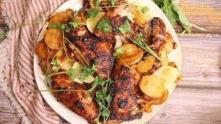 Portuguese Inspired Roast Chicken