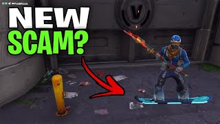 *NEW SCAM* Mythic Hover Board Scam! (Scammer Get Scammed) Fortnite Save The World