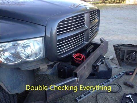 2004 dodge ram custom bumper build