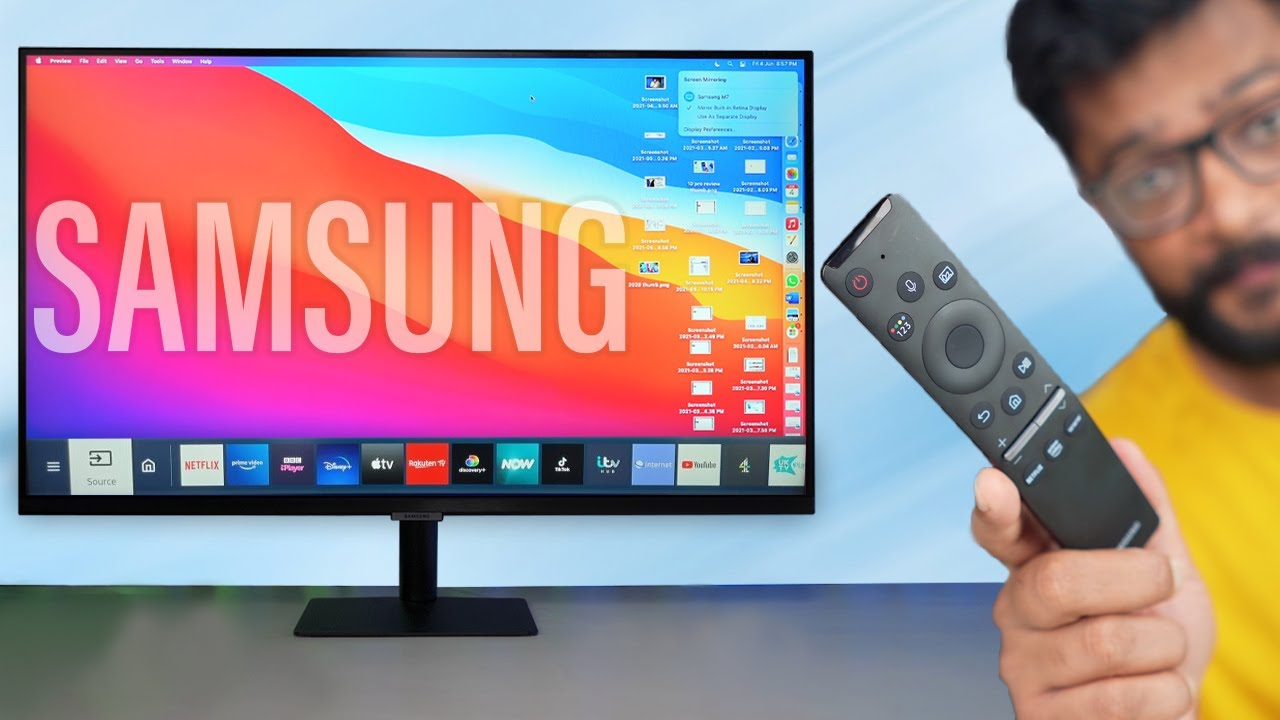 Download This is Samsung 4K Smart Monitor With Unique Features !