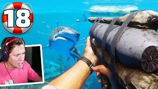 Stranded Deep - Part 18 - FIRST SHARK KILL!