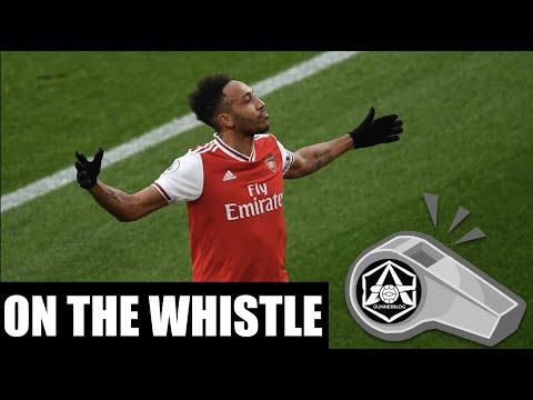 On the Whistle: Arsenal 3-2 Everton - 'Auba and Leno have been so good all season long'