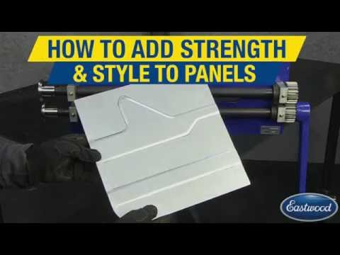 How To Use a Bead Roller For Custom Panels - Sheet Metal Fabrication - Eastwood