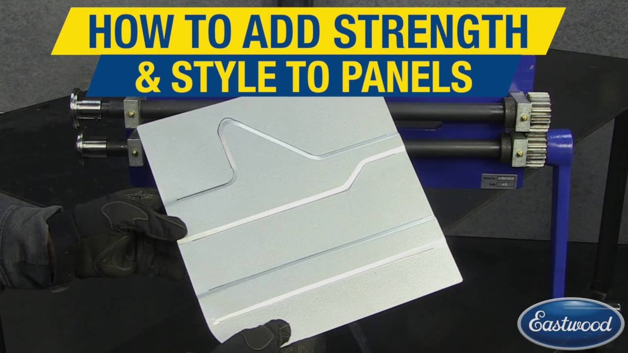 How To Use A Bead Roller For Custom Panels Sheet Metal